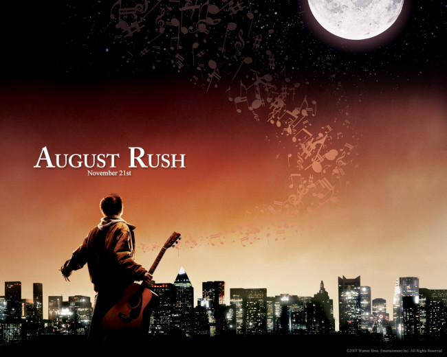 Movie review august rush